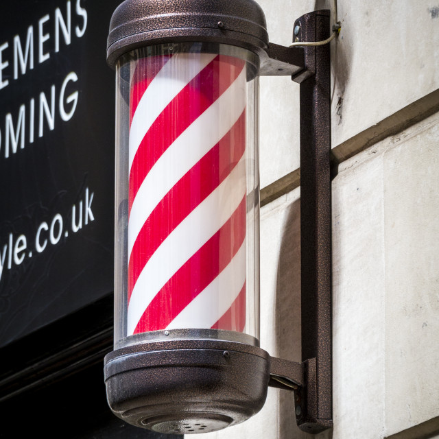 """Barber's Pole"" stock image"