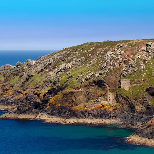 """Botallack View"" stock image"