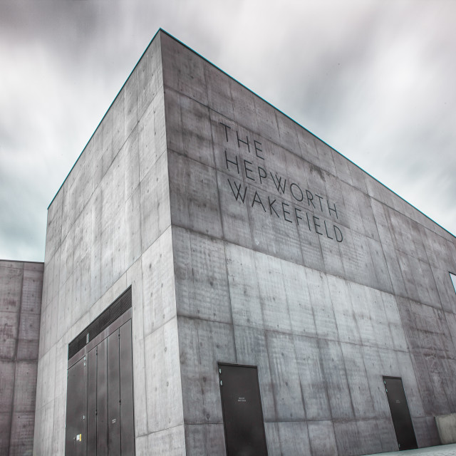 """Hepworth Gallery"" stock image"
