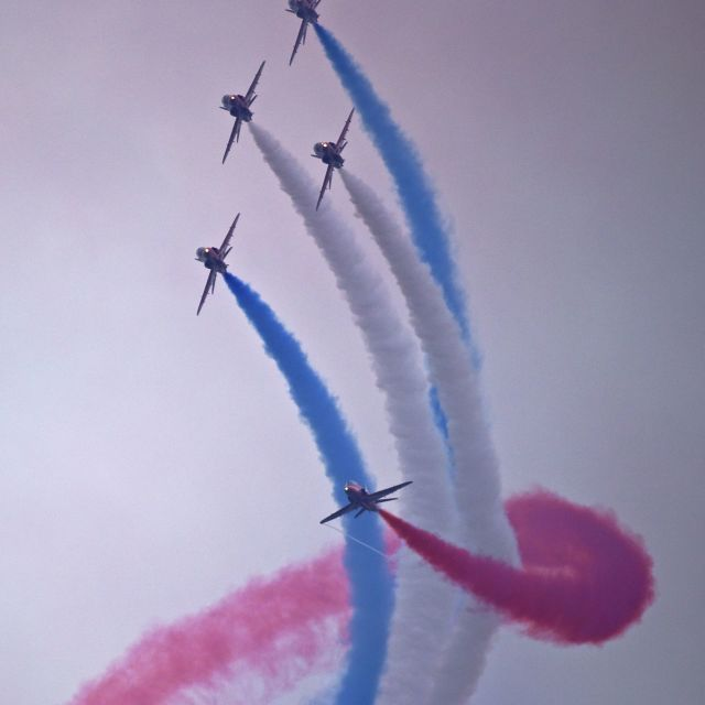 """Red Arrows 2"" stock image"