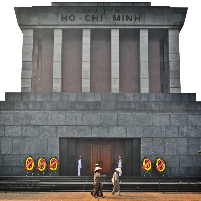 """Ho Chi Minh Mausoleum"" stock image"
