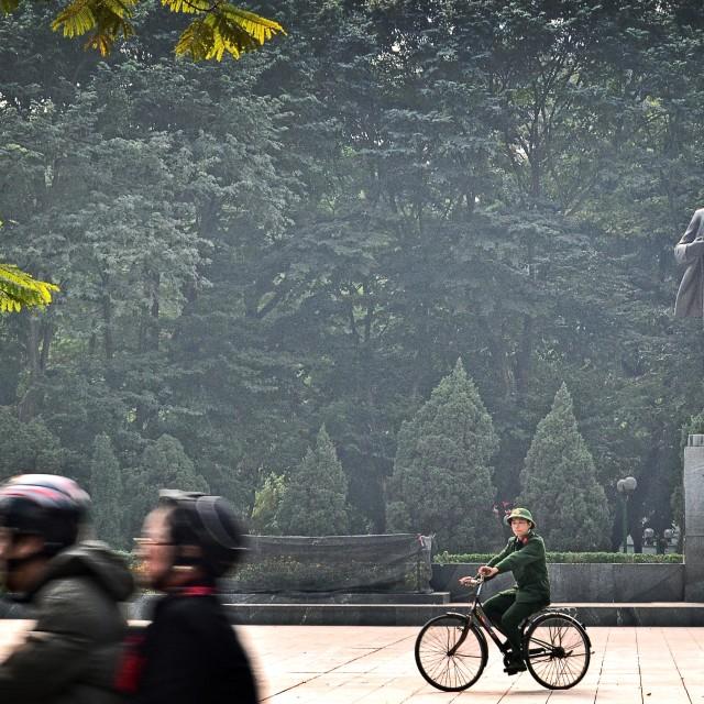 """""""Lenin Park, Hanoi"""" stock image"""