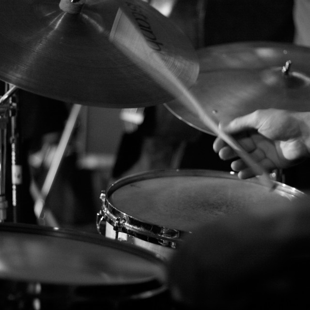 """Jazz Drummer"" stock image"