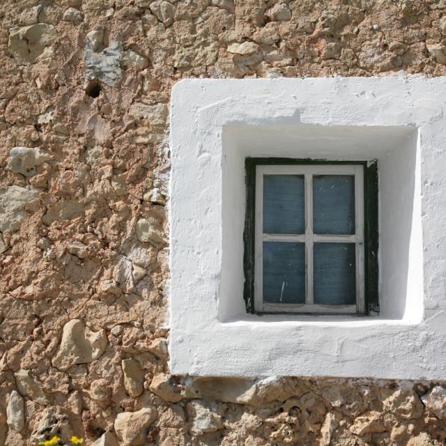 """Square Window"" stock image"
