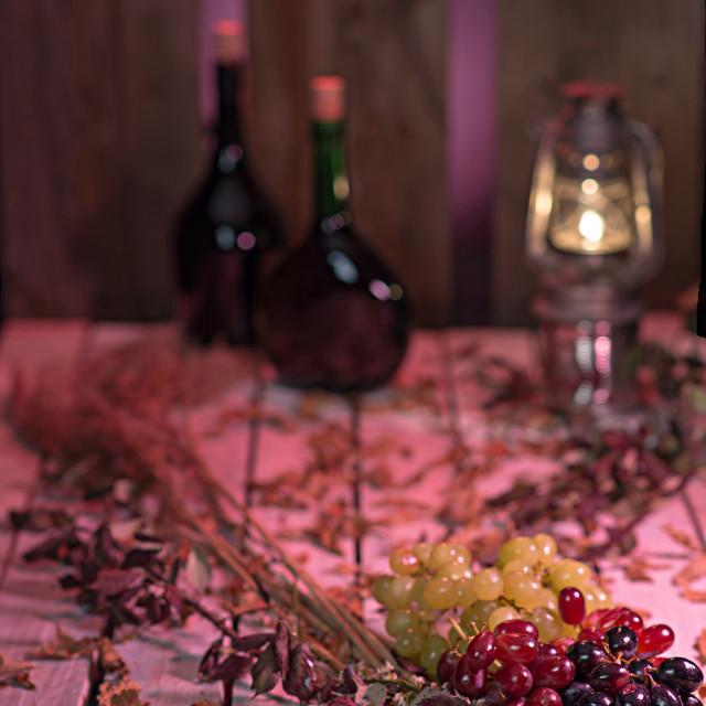 """Moody wine"" stock image"
