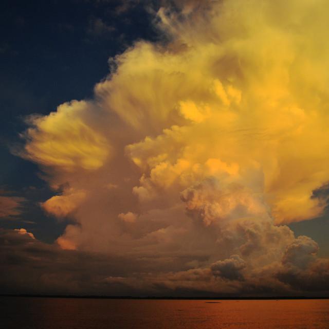 """Early Morning, Early Thunder"" stock image"