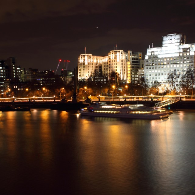 """London at Night 7"" stock image"