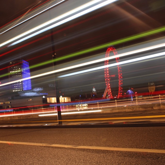 """London at Night 11"" stock image"