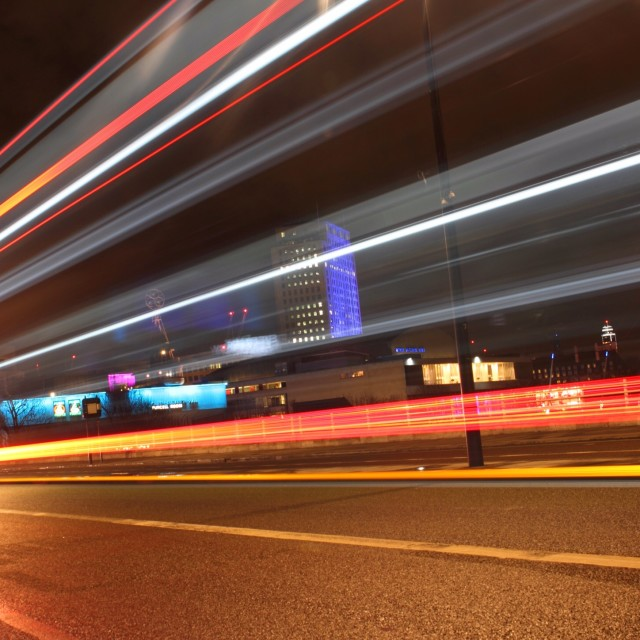 """London at Night 10"" stock image"