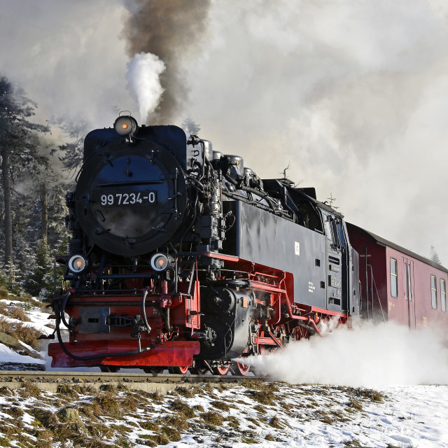 """Harz Steam 1"" stock image"