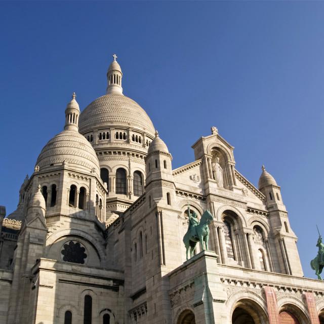 """""""Sacre Coeur Basilica"""" stock image"""