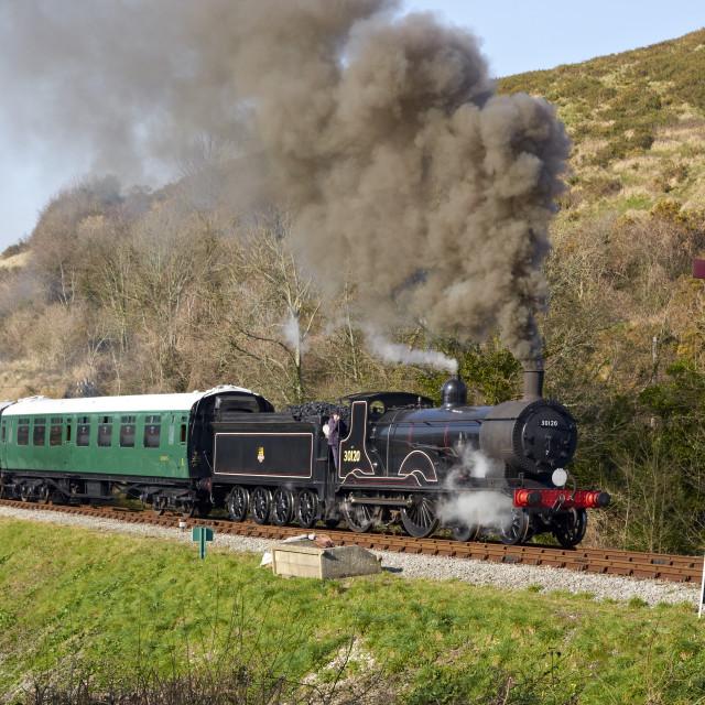 """Swnage Railway 1"" stock image"