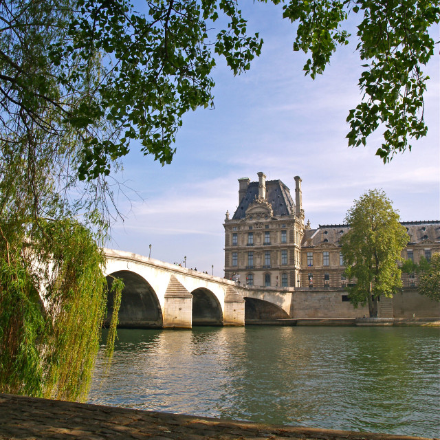 """Pont Royal"" stock image"