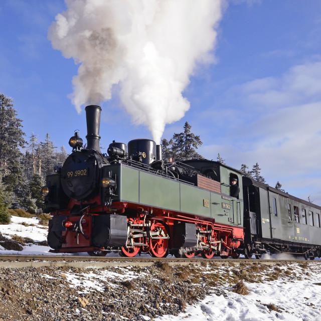 """Harz Steam"" stock image"
