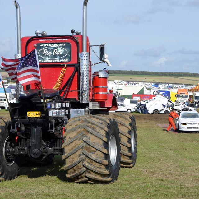 """""""Monster Truck 1"""" stock image"""