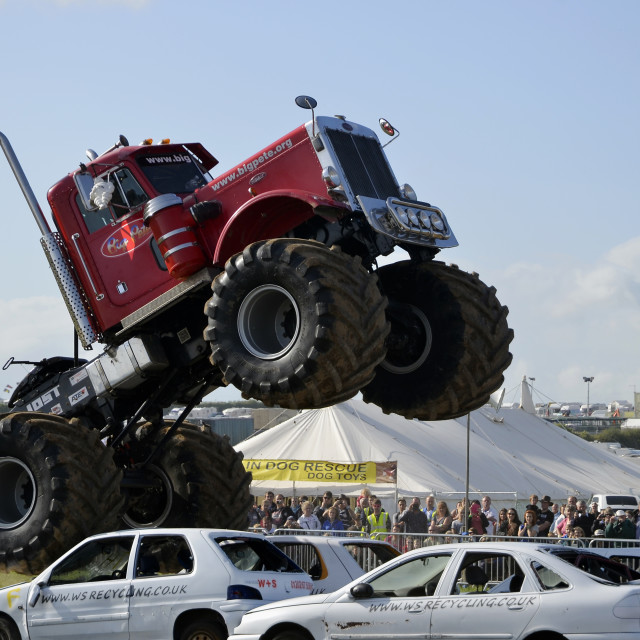 """Monster Truck2"" stock image"