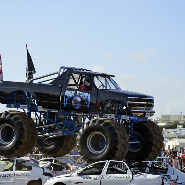 """""""Monster Truck 3"""" stock image"""