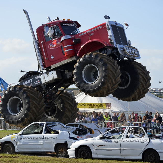 """Monster Truck 4"" stock image"