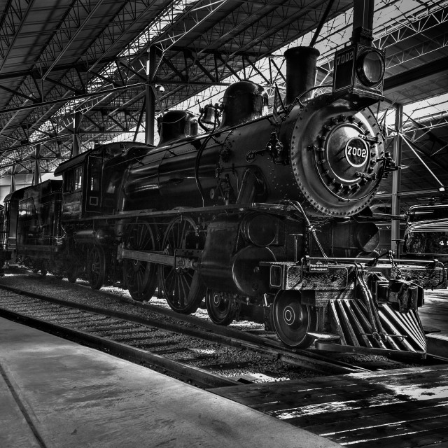 """""""Old Trains"""" stock image"""