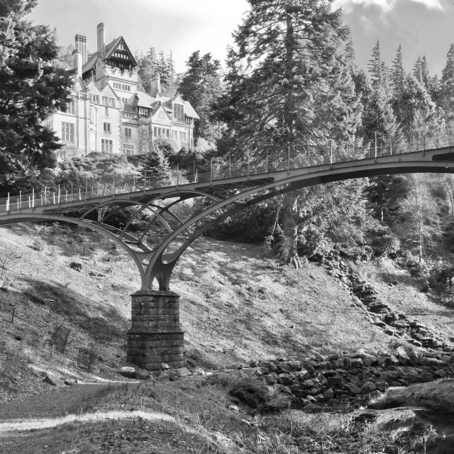 """Cragside in Northumberland"" stock image"