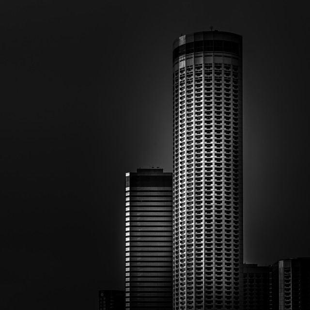 """Raffles City Hotel"" stock image"