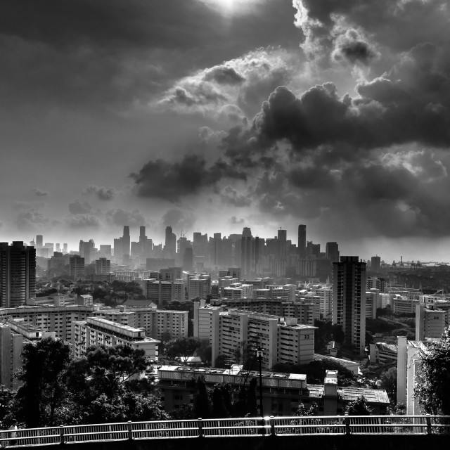 """Singapore City"" stock image"