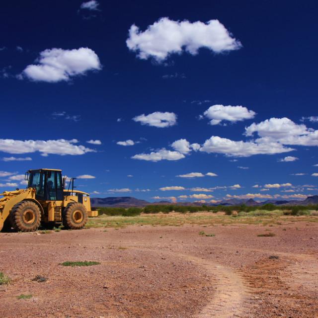"""Big Dig"" stock image"