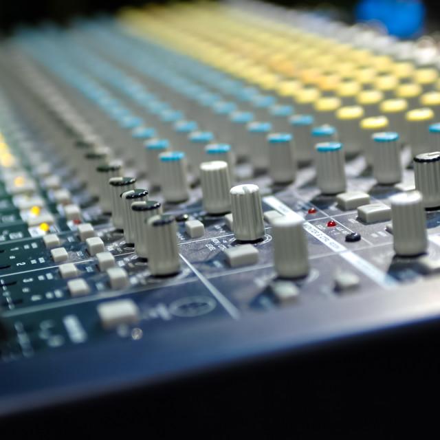 """""""soundboard"""" stock image"""