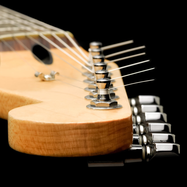 """guitar neck"" stock image"