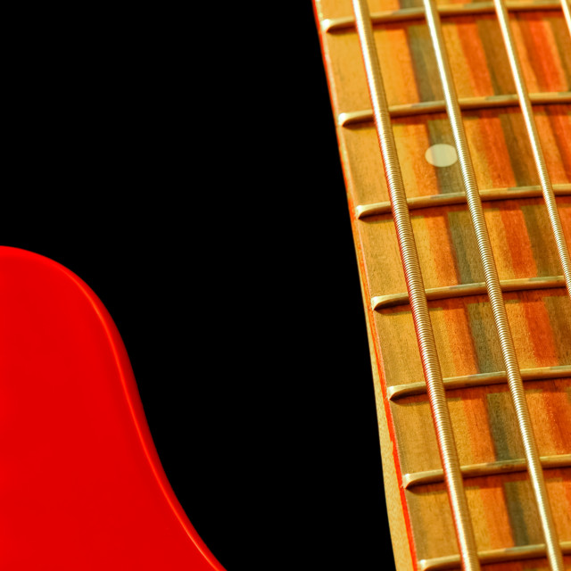 """bass guitar abstract"" stock image"