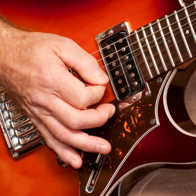 """strumming"" stock image"