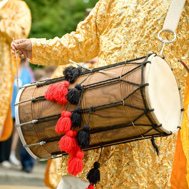"""dhol drum"" stock image"