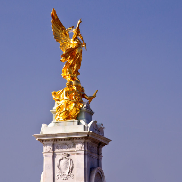"""London - The Victoria Monument"" stock image"