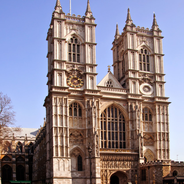 """London - Westminster Abbey"" stock image"