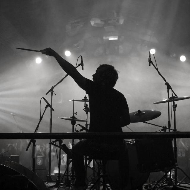 """Drummer"" stock image"