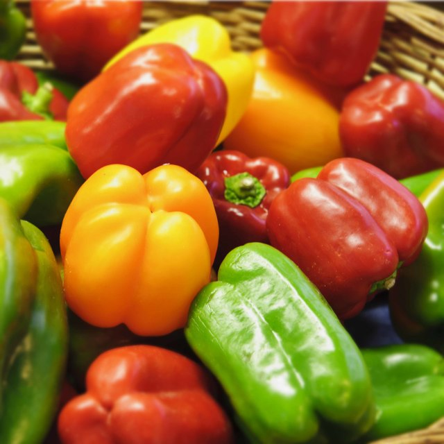 """Peppers, Peppers, Peppers"" stock image"
