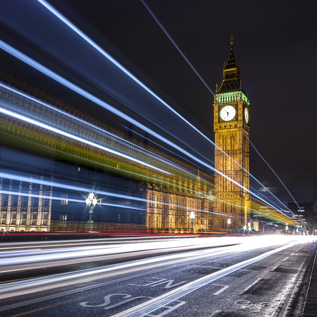 """escape from the Big Ben"" stock image"