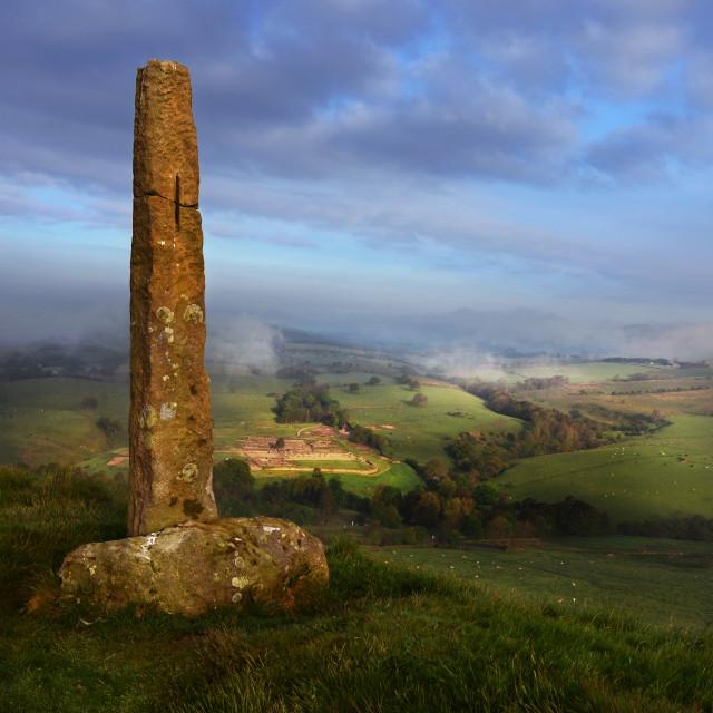 """""""Longstone to Vindolanda"""" stock image"""