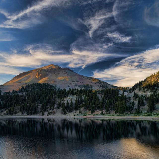 """Mount Lassen"" stock image"