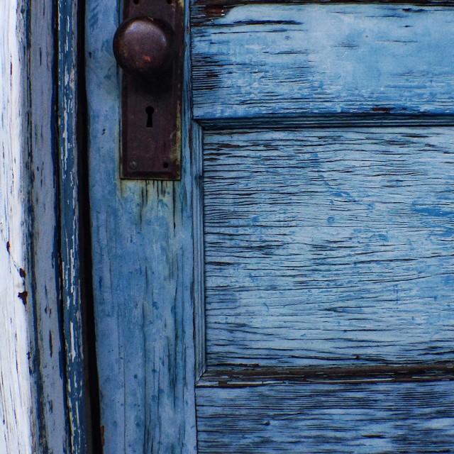 """""""Door to nowhere"""" stock image"""