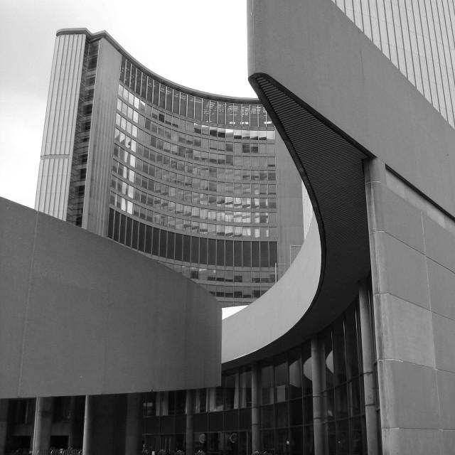 """New City Hall"" stock image"