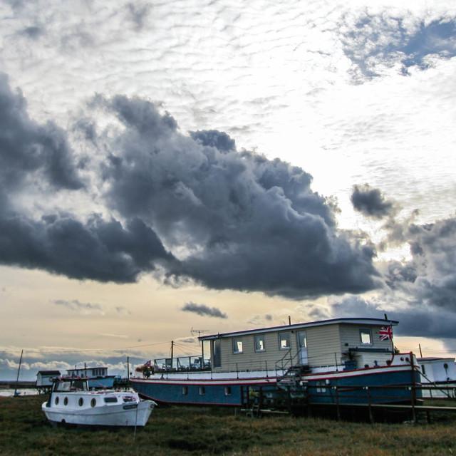 """""""Houseboats"""" stock image"""