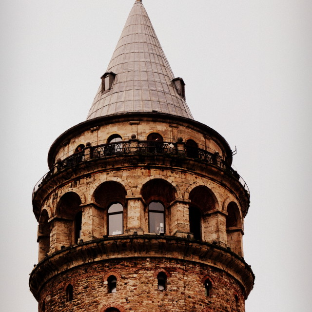 """Galata Tower"" stock image"
