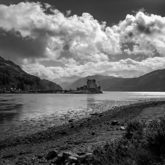 """Eilean Donan Castle, Scotland"" stock image"
