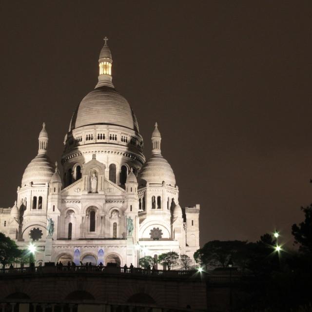 """""""Sacre Coeur"""" stock image"""
