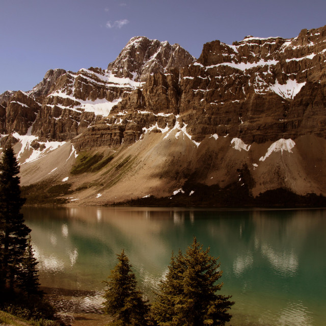 """Bow Lake"" stock image"
