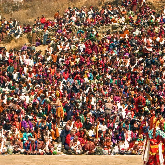 """""""Bhutanese holy festival"""" stock image"""