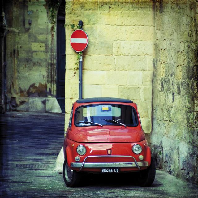 """""""Baby Fiat"""" stock image"""