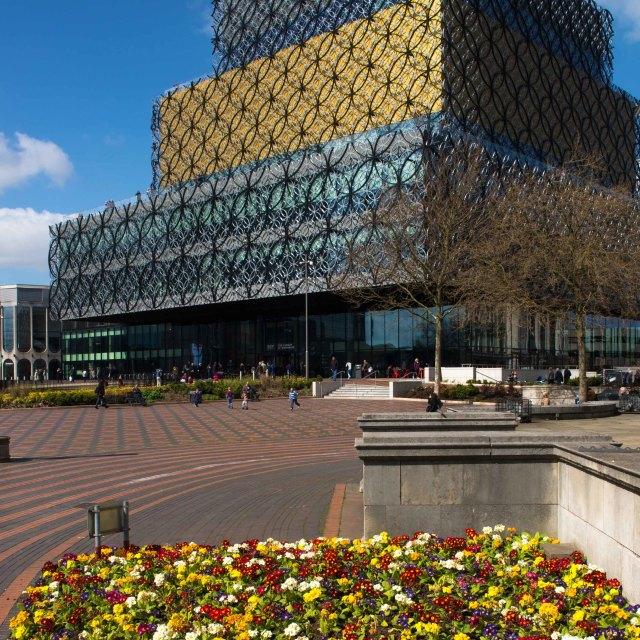 """""""Birmingham's New Library"""" stock image"""