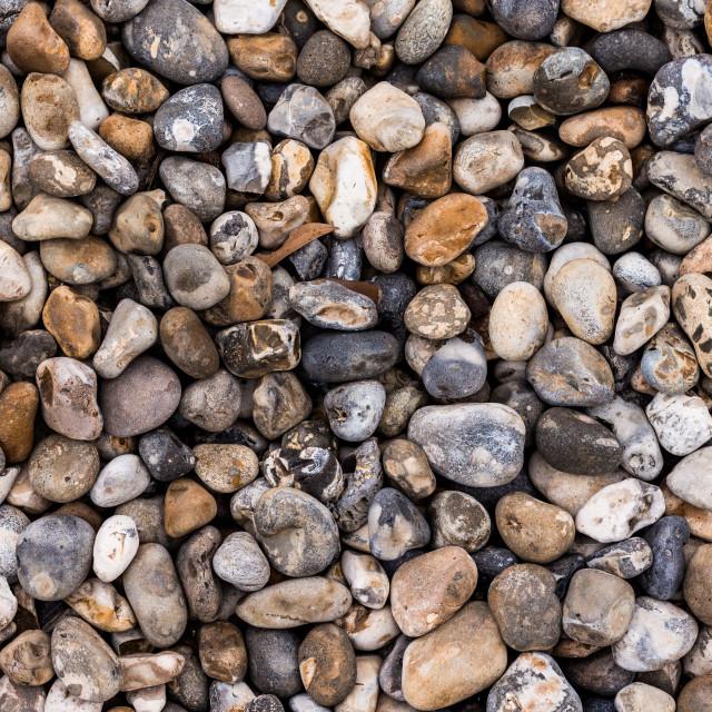 """Random Pebbles"" stock image"